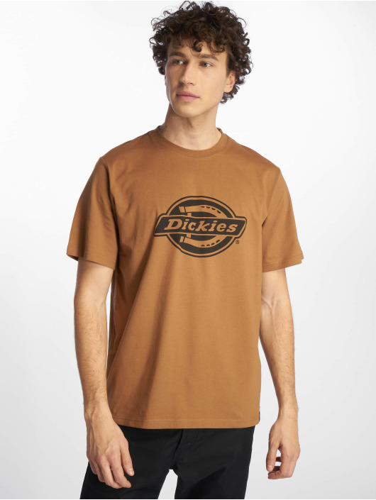Dickies t-shirt HS One Colour bruin