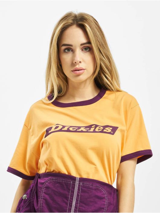 Dickies t-shirt Hellier geel