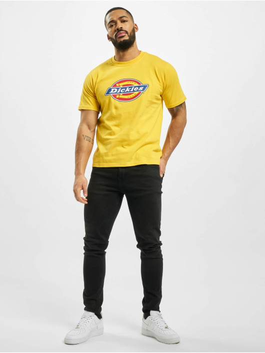 Dickies t-shirt Horseshoe geel