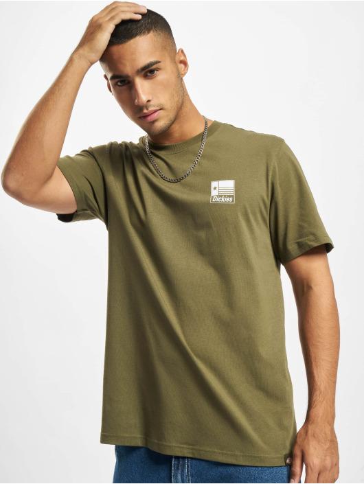 Dickies t-shirt Taylor SS groen