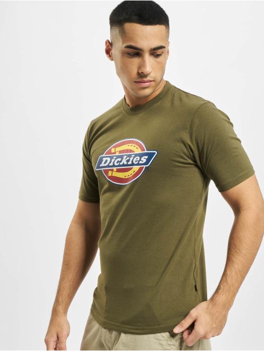 Dickies T-Shirt Icon Logo grün