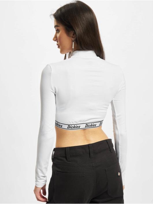 Dickies T-Shirt manches longues Petersburg Crop blanc