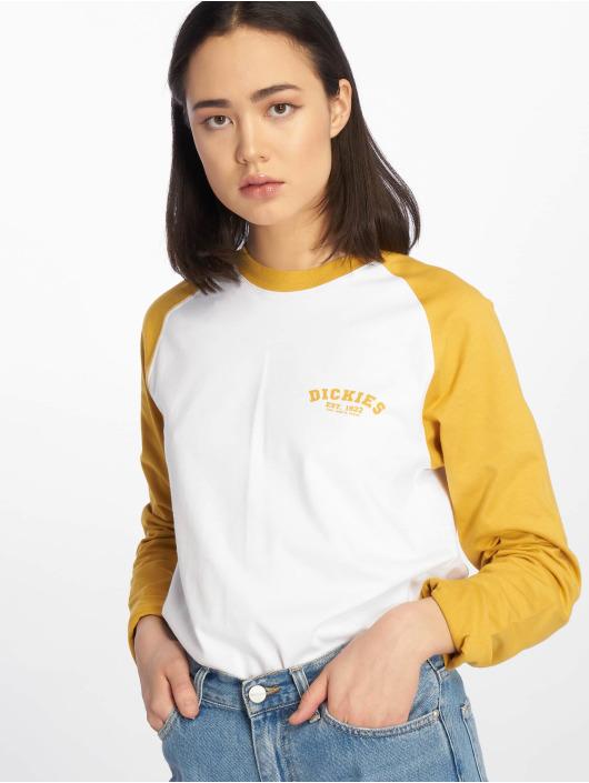 Dickies T-Shirt manches longues Baseball jaune
