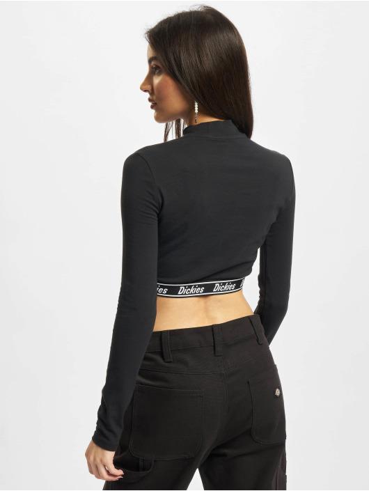 Dickies T-Shirt manches longues Petersburg Crop noir