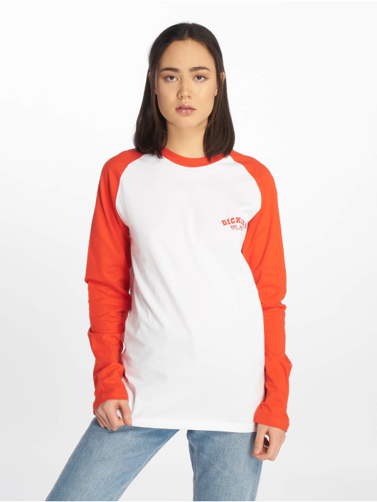Dickies T-Shirt manches longues Baseball orange