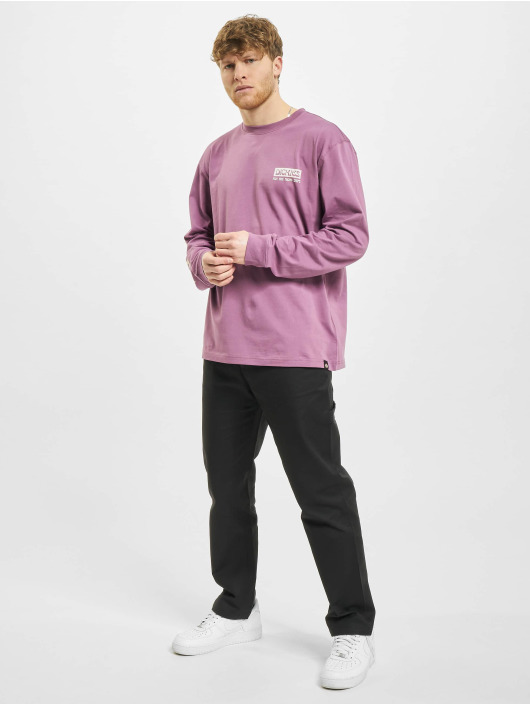 Dickies T-Shirt manches longues Willernie pourpre
