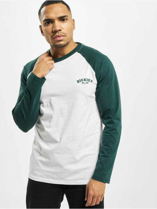 Dickies T-Shirt manches longues Dickies Baseball vert
