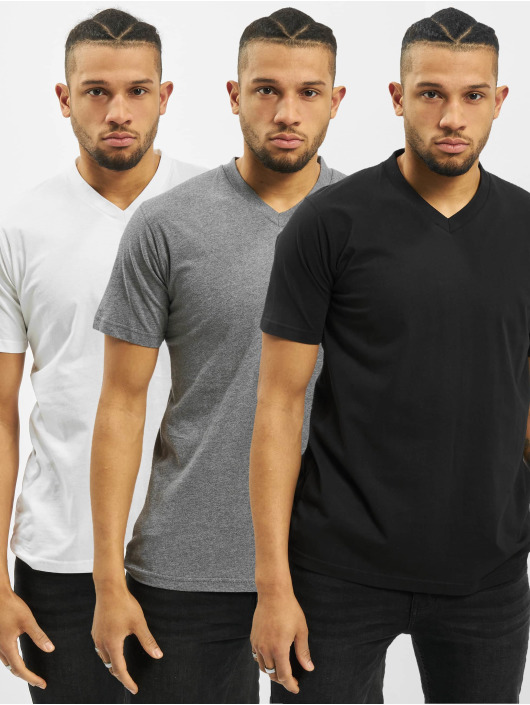 Dickies T-Shirt V-Neck Mc noir