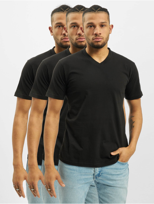 Dickies T-Shirt V-Neck 3-Pack noir