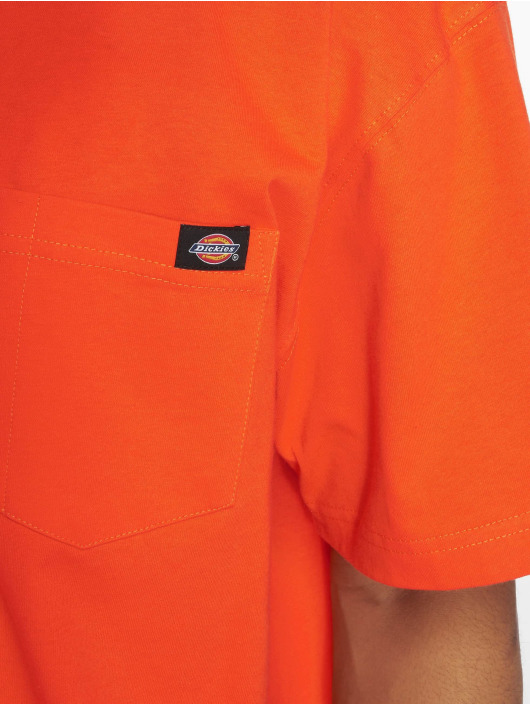 Dickies t-shirt Pocket oranje
