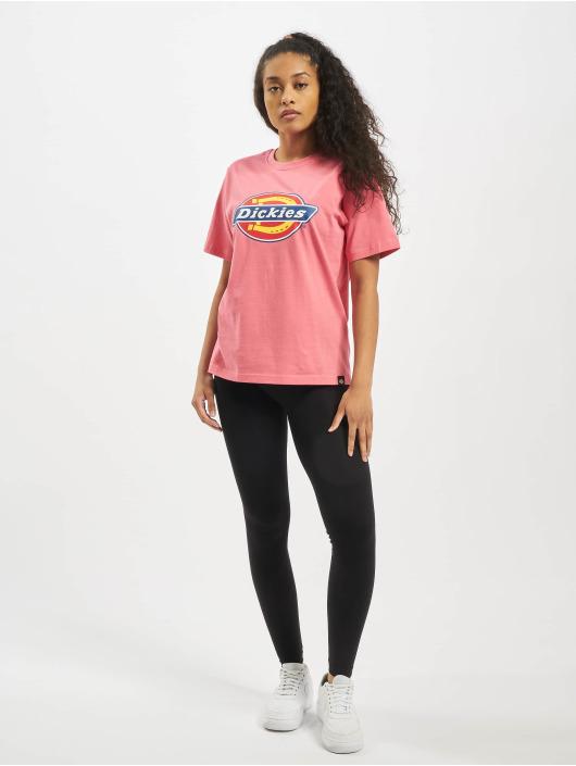 Dickies T-Shirt Horseshoe rosa