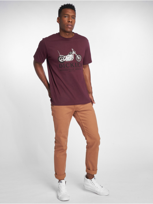 Dickies T-shirt Hardyville rosso