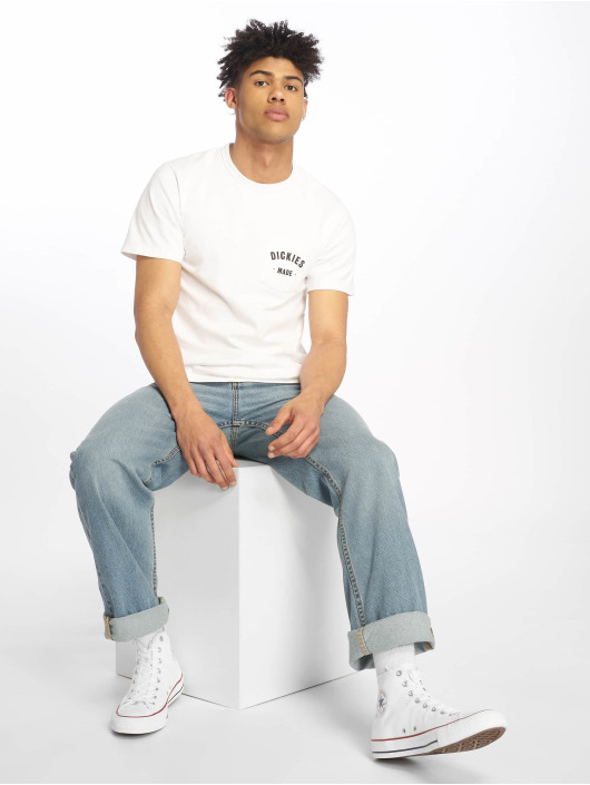 Dickies t-shirt Pamplin wit