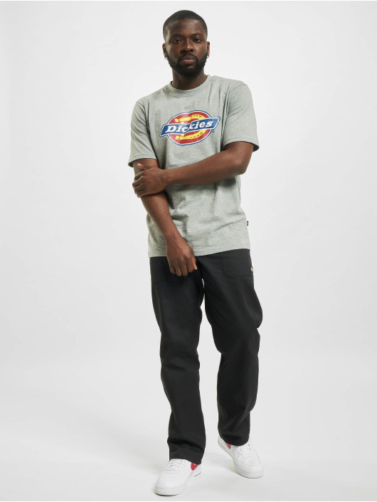 Dickies T-shirts Icon Logo grå