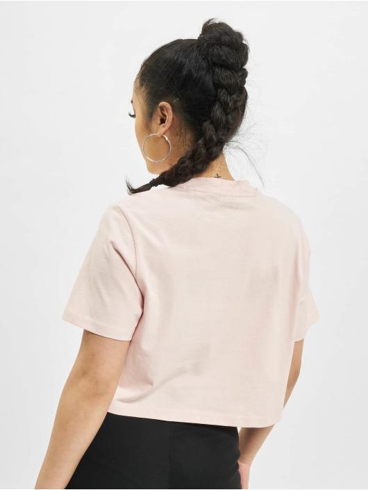 Dickies T-shirts Porterdale Crop pink