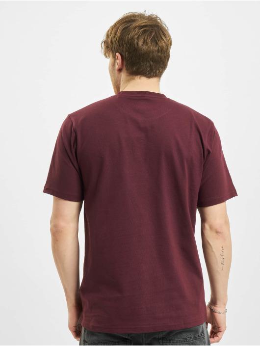 Dickies T-shirts Icon Logo rød