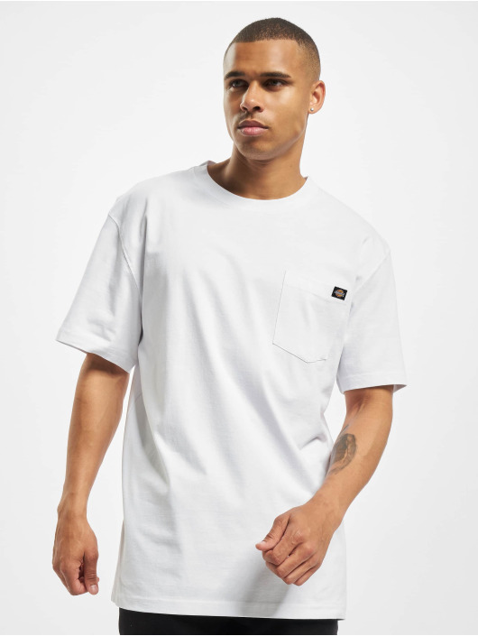 Dickies T-Shirty Porterdale bialy