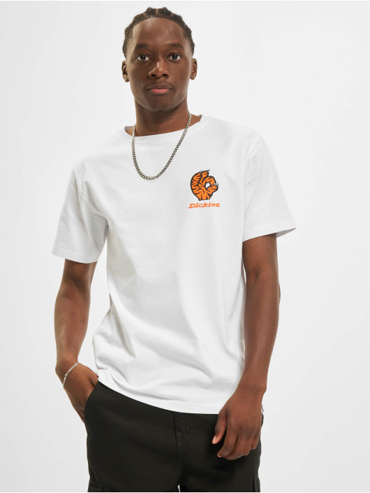 Dickies T-Shirty Schriever bialy