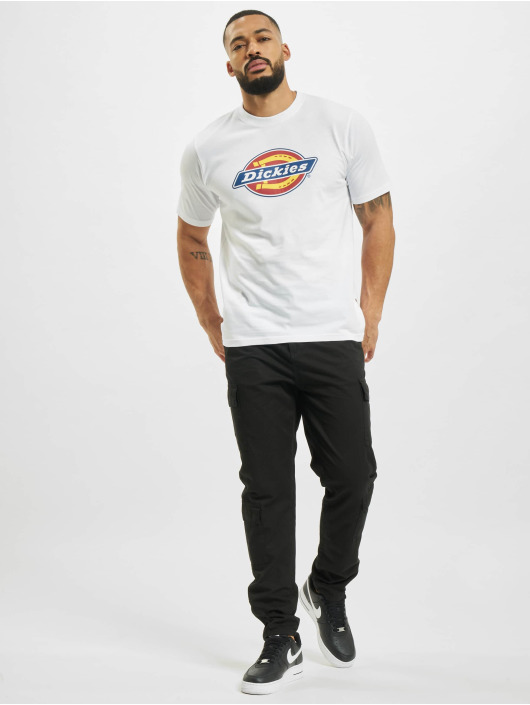 Dickies T-Shirty Icon Logo bialy