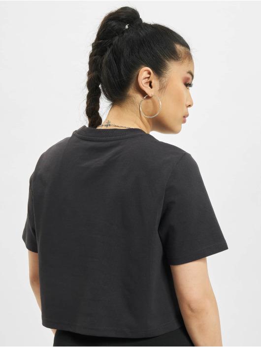Dickies T-Shirty Porterdale Crop czarny