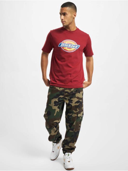 Dickies T-Shirty Icon Logo czerwony