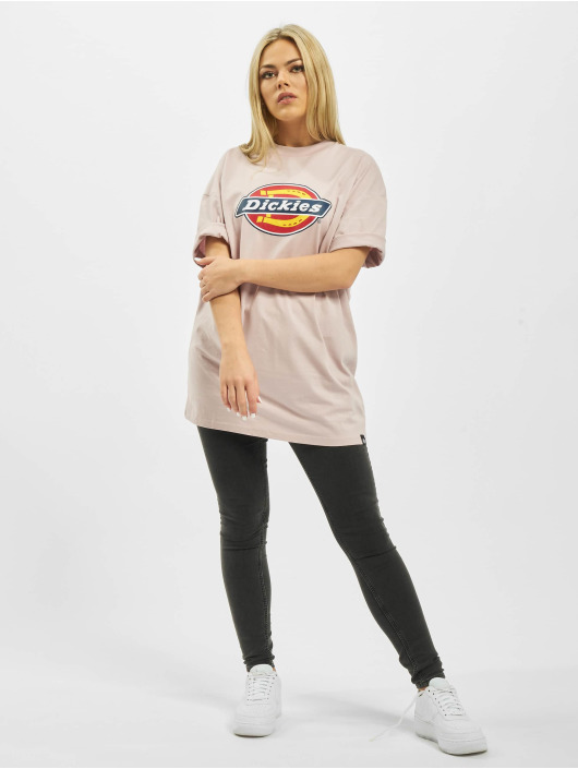 Dickies T-Shirty Varnell fioletowy