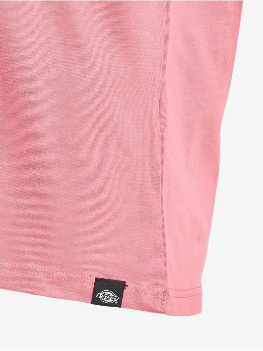 Dickies T-Shirty Horseshoe rózowy