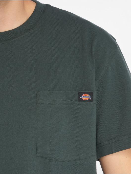 Dickies T-Shirty Pocket zielony