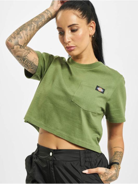 Dickies T-Shirty Ellenwood zielony