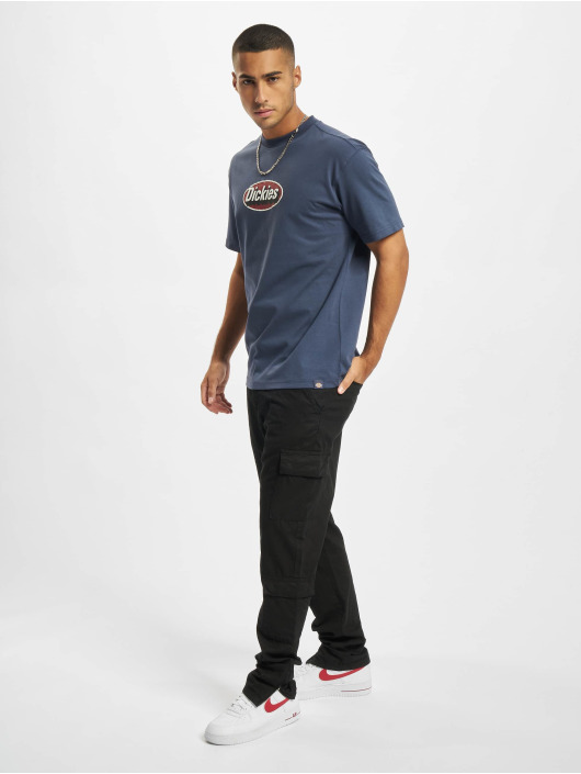 Dickies T-skjorter Saxman blå