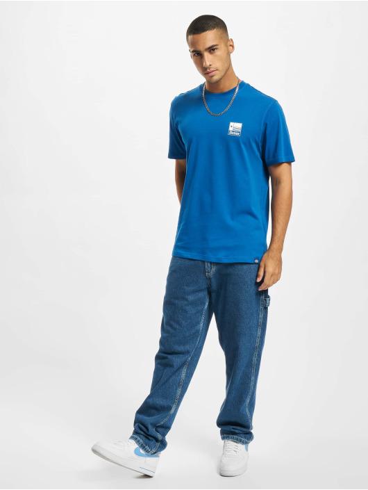 Dickies T-skjorter Taylor SS blå