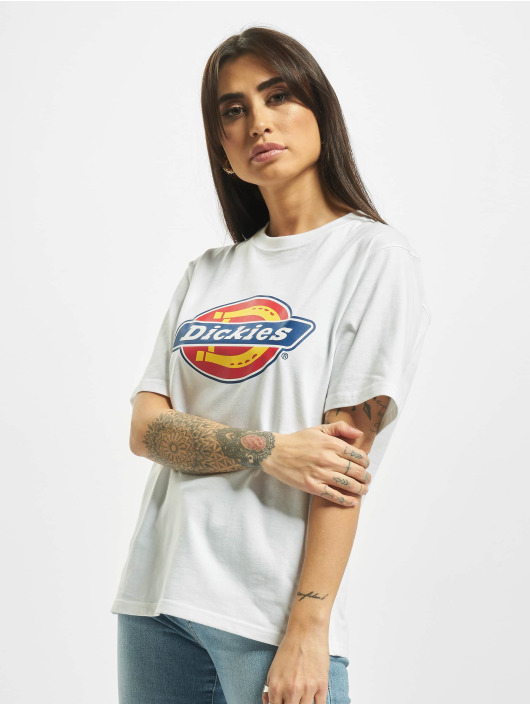 Dickies T-skjorter Horseshoe hvit