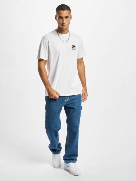 Dickies T-skjorter Taylor SS hvit