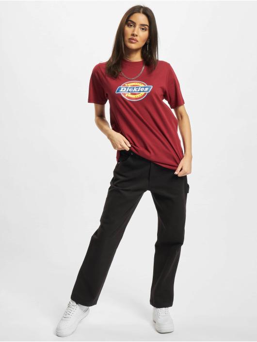 Dickies T-skjorter Icon Logo red