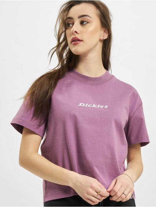 Dickies Tričká Loretto fialová