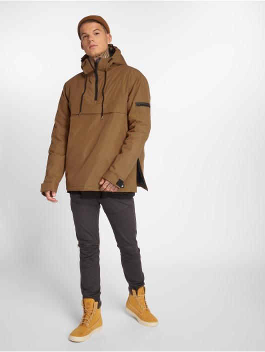 Dickies Übergangsjacke Belspring Pullover braun