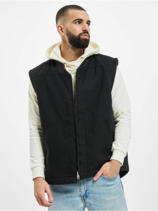 Dickies Übergangsjacke Sherpa Lined Vest schwarz