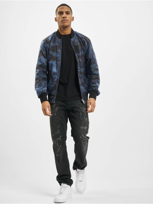 Diesel Куртка-бомбардир J-Town синий