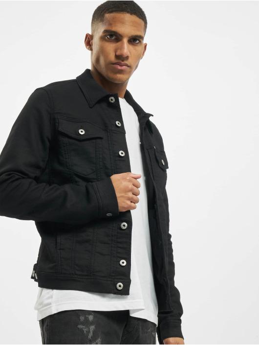 Diesel джинсовая куртка R-Elshar черный