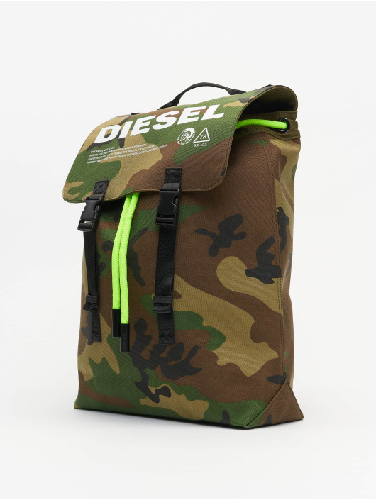 "Diesel Backpack ""Thisbagisnotatoy"" Volpago camouflage"