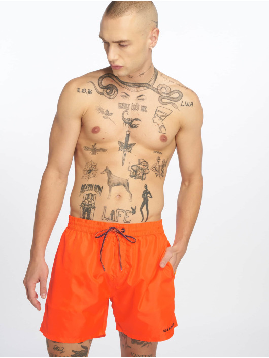 Diesel Badeshorts BMBX-Wave 2.017 SW orange