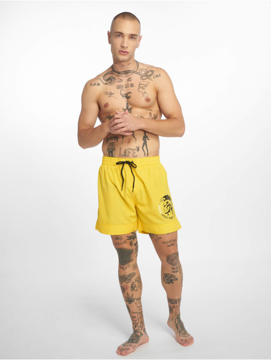Diesel Badeshorts BMBX-Wave 2.017 SW yellow