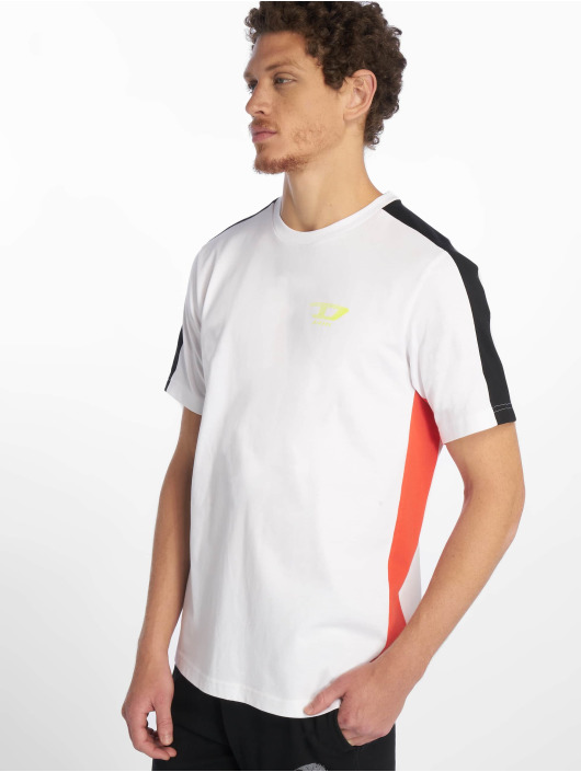 Diesel Camiseta Harus blanco