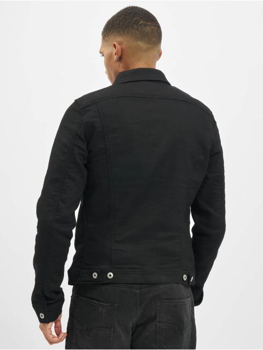 Diesel Džínová bunda R-Elshar čern