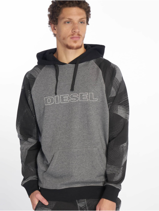 Diesel Hoodie UMLT-Brian grey