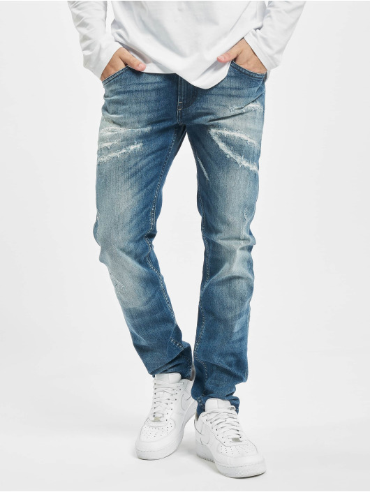 Diesel Jean coupe droite Thommer bleu