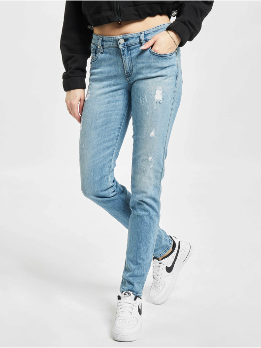 Diesel Jean coupe droite Gracey bleu