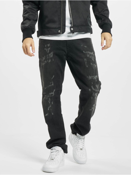Diesel Jean coupe droite Larkee noir