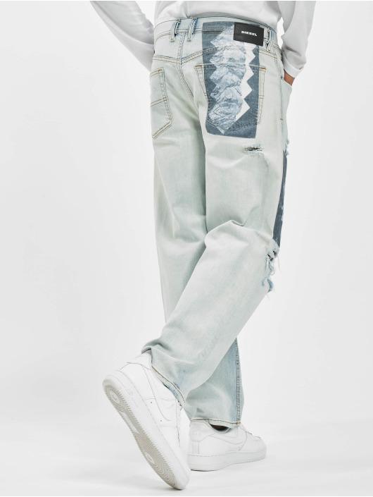 Diesel Jeans straight fit DAGH blu