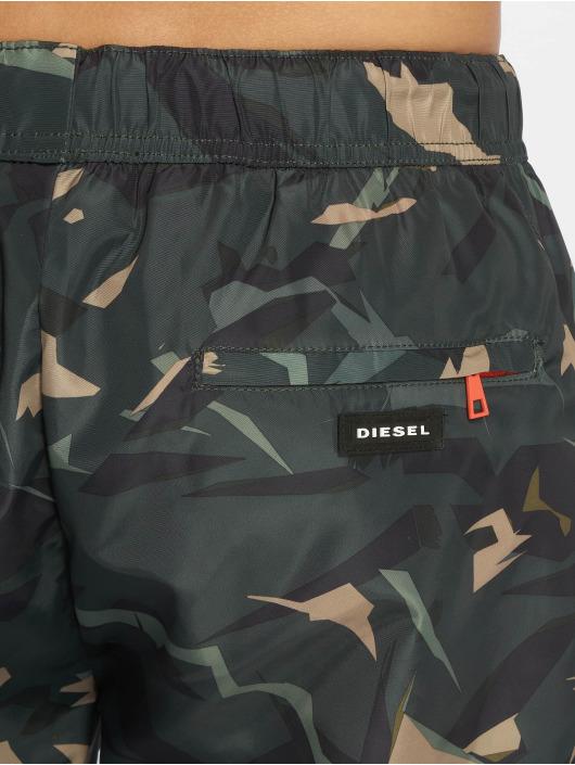 Diesel Kúpacie šortky Bmbx-Seasprint olivová